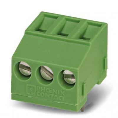 Phoenix elektrische aansluitklem: MKDSFW 1,5/ 3 - Groen