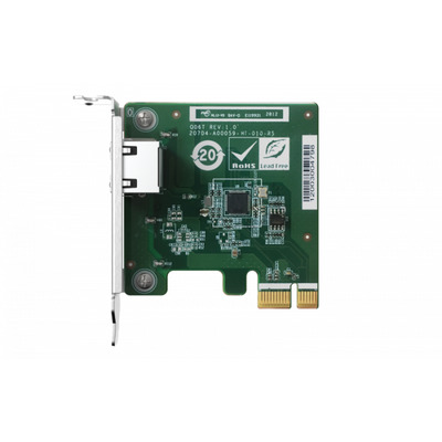 QNAP 2.5G LAN, RJ-45, PCIe x1 2.0, Netwerkkaart