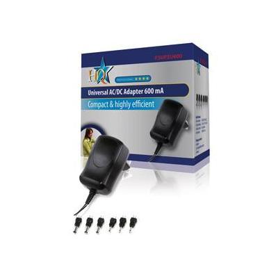 HQ Universal adapter netvoeding - Zwart