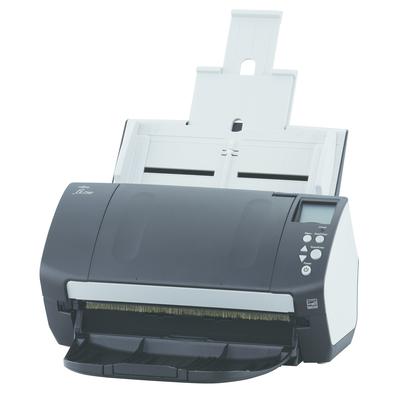 Fujitsu scanner: fi-7160 - Zwart, Wit
