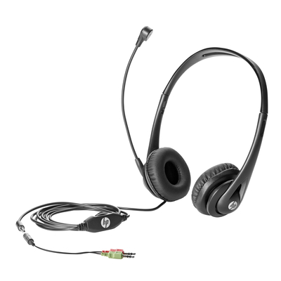 HP Business v2 Headset - Zwart