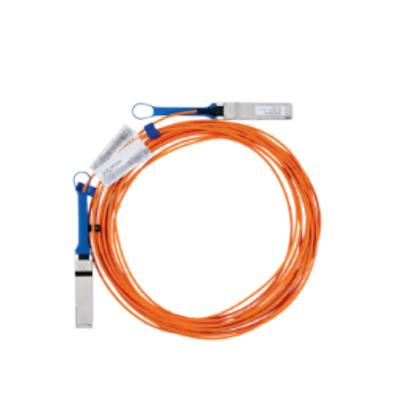 Lenovo kabel: 3m Mellanox Active IB FDR - Oranje