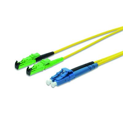 ASSMANN Electronic Fiber Optic Patch Cord, E2000 (APC) to LC (PC) DIAMOND, Singlemode 09/125 µ, .....