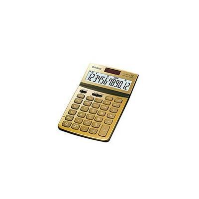 Casio calculator: JW-200TW - Goud