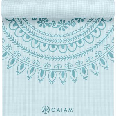 Gaiam fitness, gymnastiek & gewichtstraining: Premium Fitness- / Yogamat - 5 mm - Marrakesh