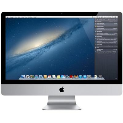 """Apple all-in-one pc: 27"""" - Refurbished"""