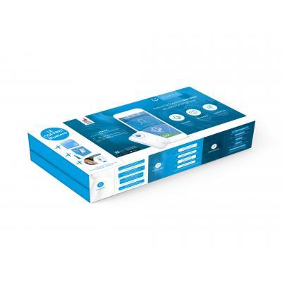 Bluetens elektronische spierstimulator: MPACKUNI10 - Blauw, Wit