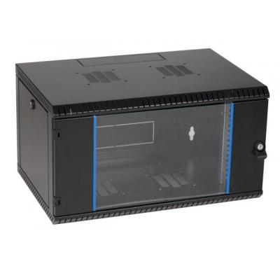 "EFB Elektronik 48.26 cm (19"") Wall Mount Cabinet 6U, 1-Part, D=500, RAL9005 rack - Zwart"