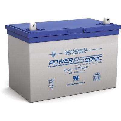 Power-Sonic PS-121000S UPS batterij - Blauw, Grijs