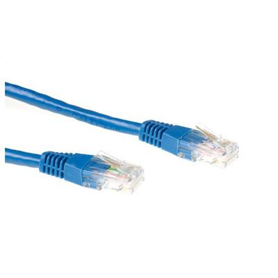 Ewent 5.0m Cat6 UTP Netwerkkabel - Blauw