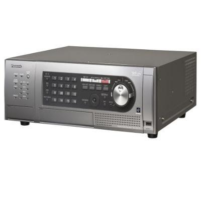 Panasonic digitale video recorder: WJ-HD616 8TB - Zwart, Grijs