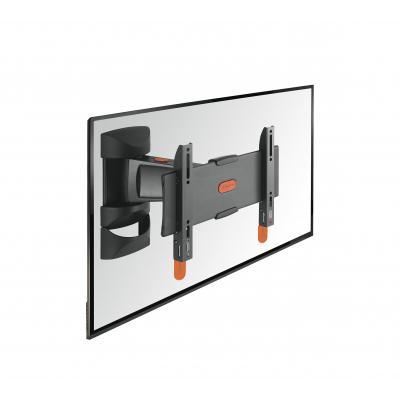 Vogel's montagehaak: BASE 25 S Draaibare TV-muurbeugel - Zwart