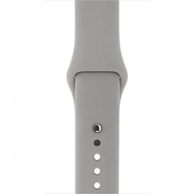 Apple : Watch 38mm, Betongrijs