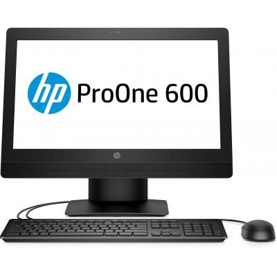 Hp all-in-one pc: ProOne 600 G3 - Zwart (Demo model)