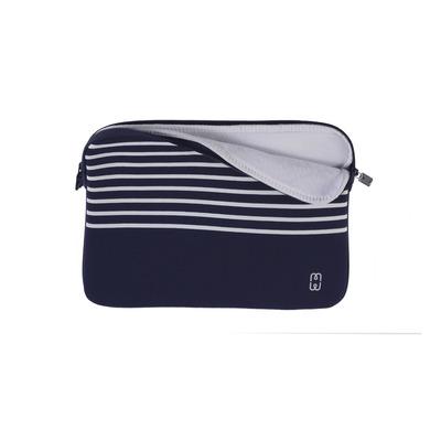 MW 410065 Laptoptas - Blauw, Wit