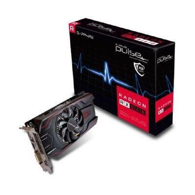Sapphire videokaart: Radeon RX 560, 896 Stream Processors, 4GB GDDR5, 1 x DVI-D, 1 x HDMI, 1 x DisplayPort 1.4 - Zwart