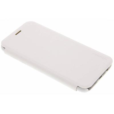 Sparkle Slim Booktype Samsung Galaxy J5 (2017) - Wit / White Mobile phone case