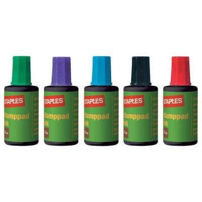 Staples stempel inkt: Stempelinkt SPLS 7760069 groen