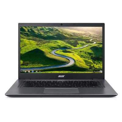 "Acer laptop: Chromebook 14 CP5-471-33PC - 14"" Celeron 4GB RAM 32GB Flash - Chrome OS - Zwart, Grijs"