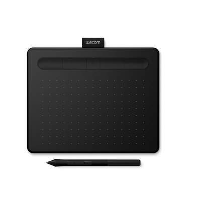 Wacom Intuos S (Small) Bluetooth Tekentablet - Zwart