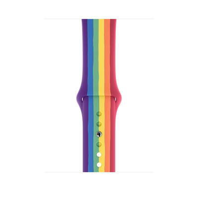 Apple 44‑mm Pride Edition sportbandje - Standaardmaat - Multi kleuren