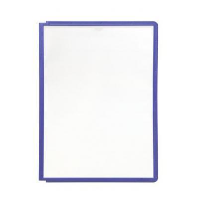 Durable : SHERPA Zichtpanelen met profiellijst voor DIN A4 formaat - Violet
