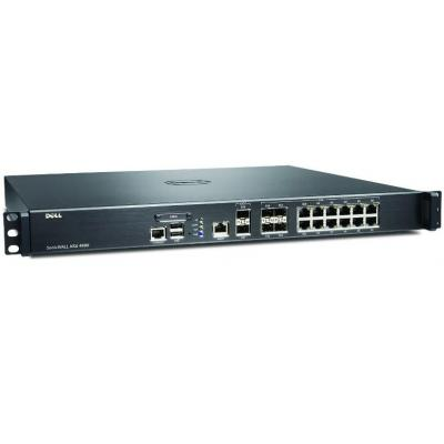 Dell firewall: SonicWALL SonicWALL NSA 4600 High Availability - Security appliance - Gigabit LAN, 10 Gigabit LAN - 1U
