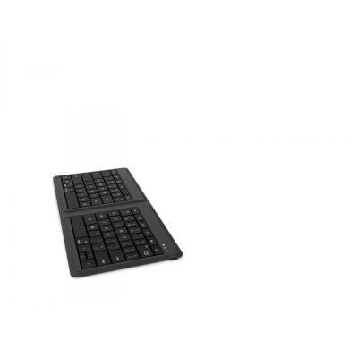 Microsoft toetsenbord: Universal Foldable Keyboard - Zwart, QWERTY