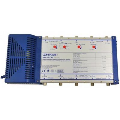 Spaun signaalversterker TV: SBK 5503 NFI - Blauw
