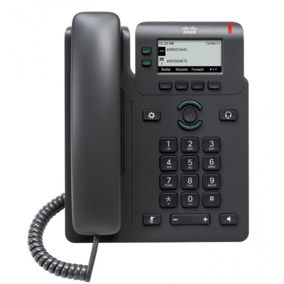 Cisco 6821 IP telefoon - Zwart