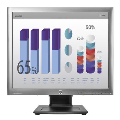 HP monitor: E190i - Zilver (Refurbished LG)