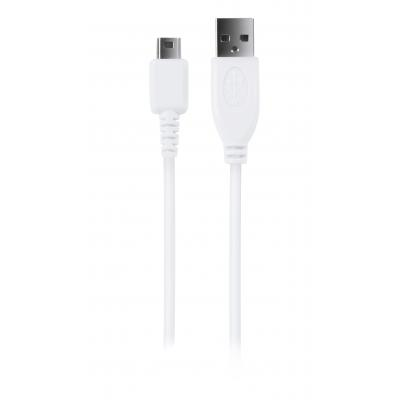 Speedlink batterij: Speedlink, STREAM Play + Charge USB Cable - for Wii U (Wit)