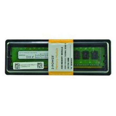 2-power RAM-geheugen: 4GB DDR3L UDIMM+ TS - Groen