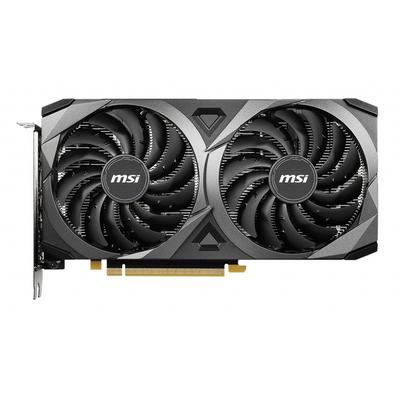 MSI GeForce RTX 3060 VENTUS 2X 12G OC Videokaart - Zwart