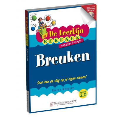 Karakter educatieve software: Leerlijn Rekenen, Breuken voor Groep 6 t/m 8