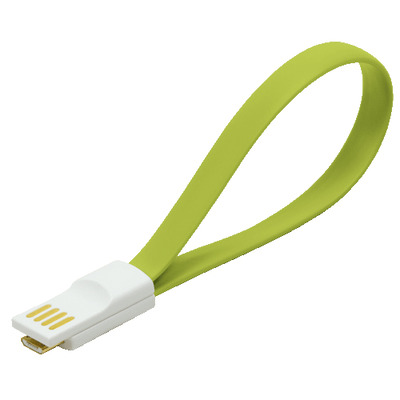 LogiLink USB/Micro USB USB kabel - Groen