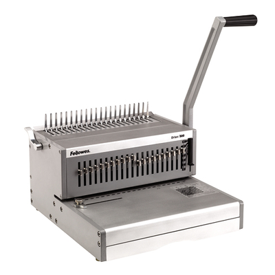 Fellowes inbindmachine: Orion 500 inbindmachine voor plastic bindruggen - Zilver