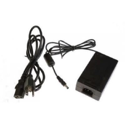 Hp netvoeding: AC/DC power adapter (40 watt) - Output voltage 12VDC - Provides external power for LED monitor - Zwart