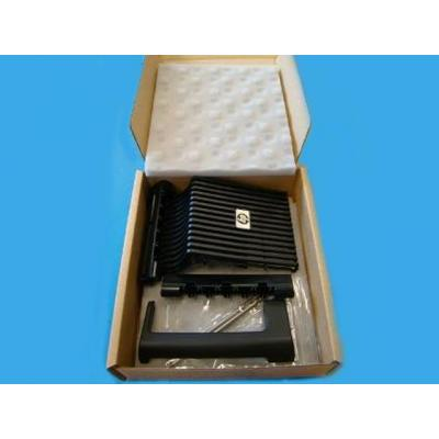 Hp montagekit: Miscellaneous plastics hardware kit - Cosmetic top strip, spacers, decorative grille, and carrying handle