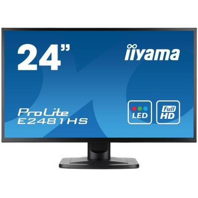 "Iiyama monitor: ProLite 23.6"" Full HD en LCD Monitor  - Zwart"