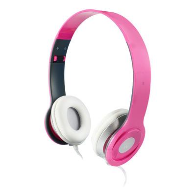 Ewent 20 - 20k Hz, 50mW, 3.5mm Headset - Roze