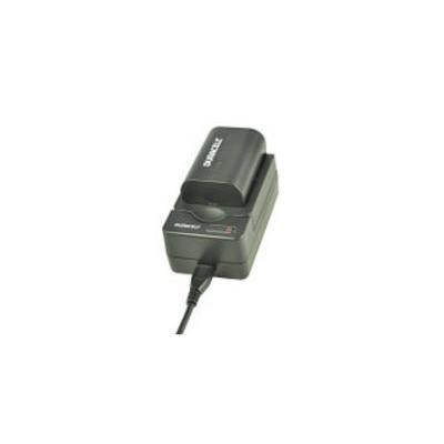 Duracell oplader: USB, 5V, Replacement f/ Panasonic DMW-BLF19 - Zwart