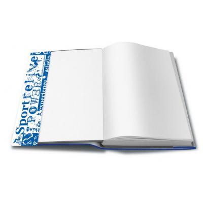 Herma tijdschrift/boek kaft: 28260 - Blauw