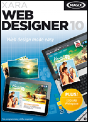 Magix software: Web Designer 10 (download versie)