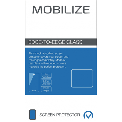 Mobilize Screenprotector Samsung Galaxy S6 Edge Screen protector - Transparant