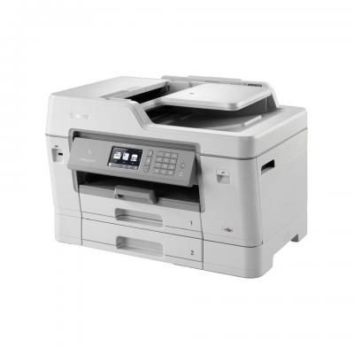 Brother multifunctional: A3 all-in-one inkjetprinter MFC-J6935DW - Grijs, Wit