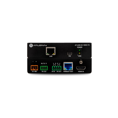 Atlona UHD-EX-100CE-TX AV extender - Zwart