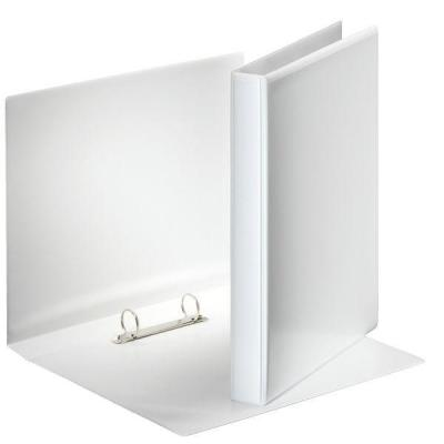 Esselte ringband: Panorama Ring Binders A4, 2 x 25mm - Wit