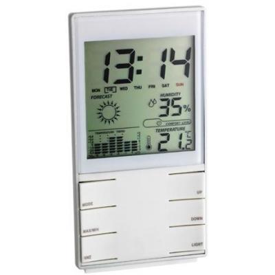 Tfa weerstation: Digital Weather Station, temperature indoor: 0 …+50°C (32…+122°F), humidity indoor: 20… 99%, 2 .....
