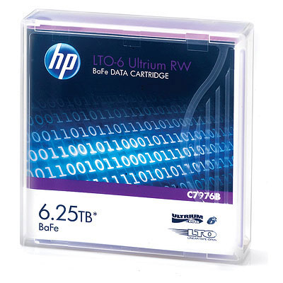 Hewlett Packard Enterprise LTO-6 Ultrium RW Datatape - Paars